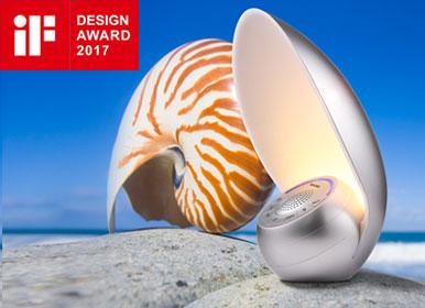 小海螺蓝牙音箱灯