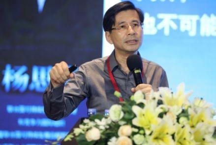 世界联合大学副校长杨思卓发言