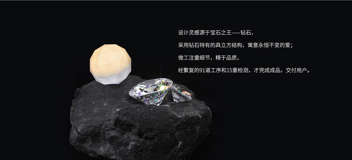 SL3507宝石精灵智能语音台灯