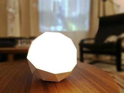 轻生活智能语音模组案例-SL3207宝石精灵智能语音台灯