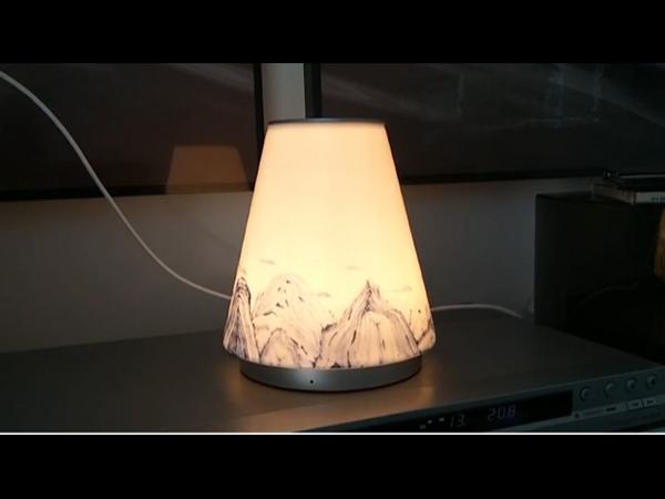 轻生活合作案例之——LED工艺台灯