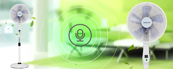 智能语音控制风扇